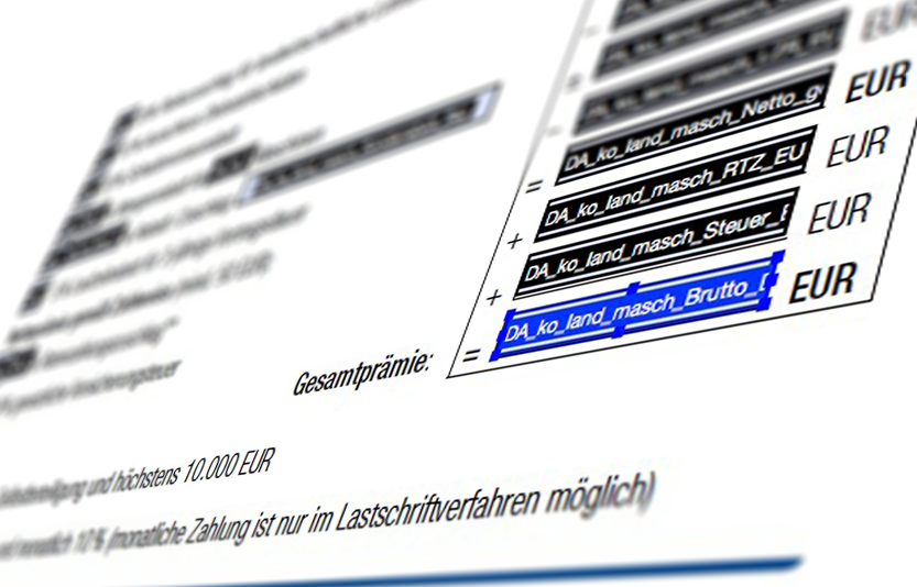 Beispielbild für Formularprogrammierung